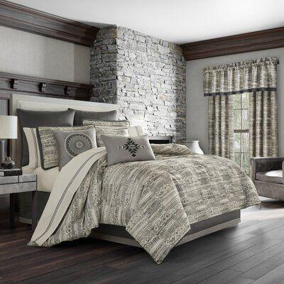 Union Rustic Kalmanovitz Comforter Set | Wayfair