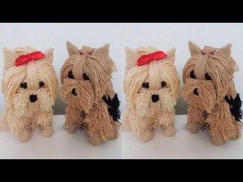 Amigurumis Perros Paso A Paso : Como tejer muÑecos y amigurumis tejidos a crochet y ganchillo el