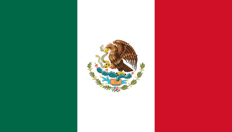 File Flag Of Mexico Svg Mexico Flag Mexican Flags Flag