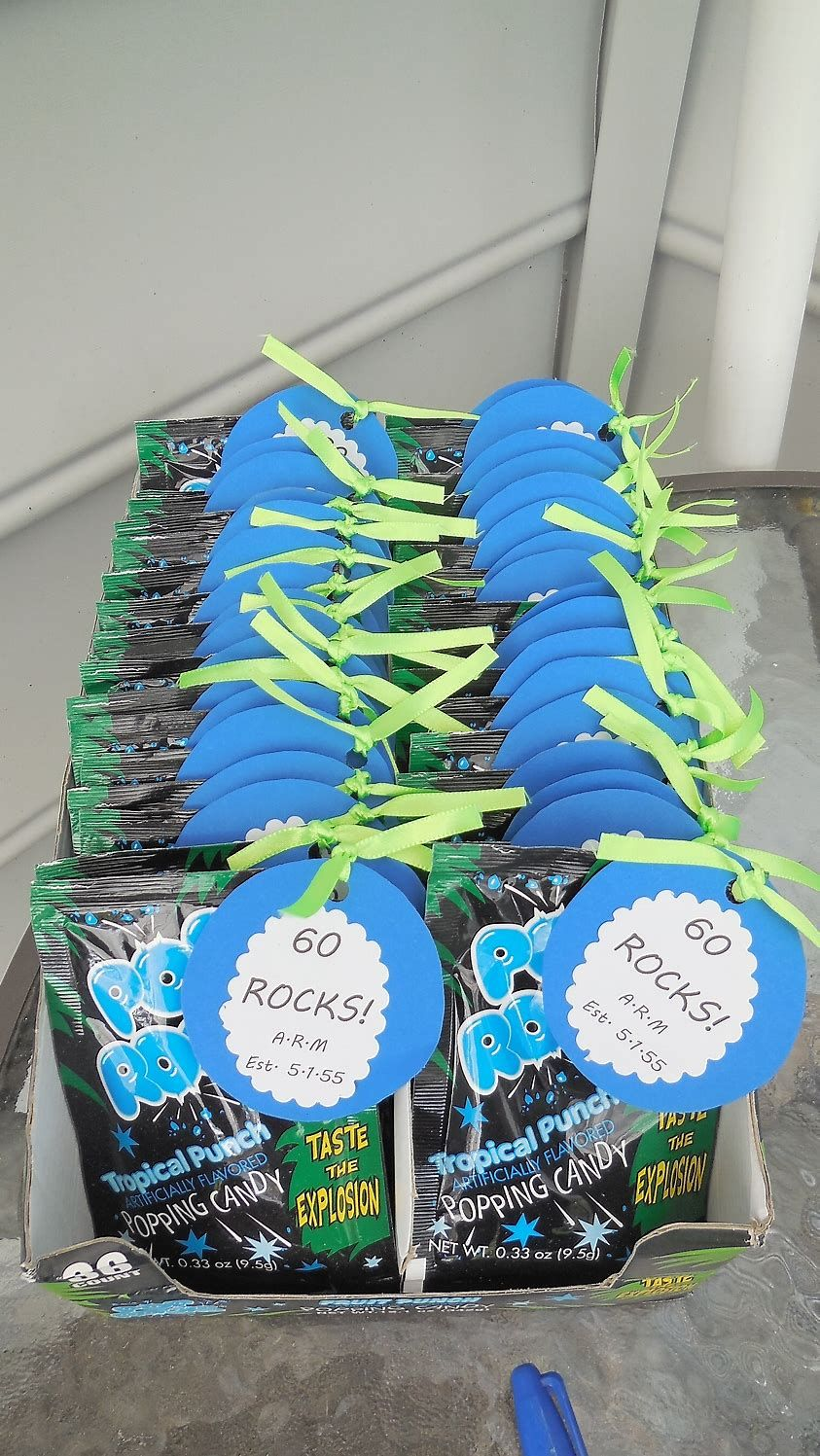 Image Result For Pinterest 60th Birthday Party Favor Ideas