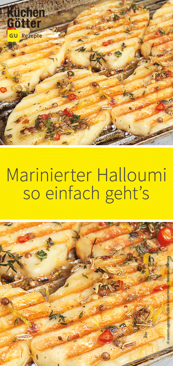 Marinierter Halloumi #chickentacorecipes