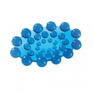 Jabonera Gedy Spot azulón - Imaginedecó - Tienda online de decoración y hogar