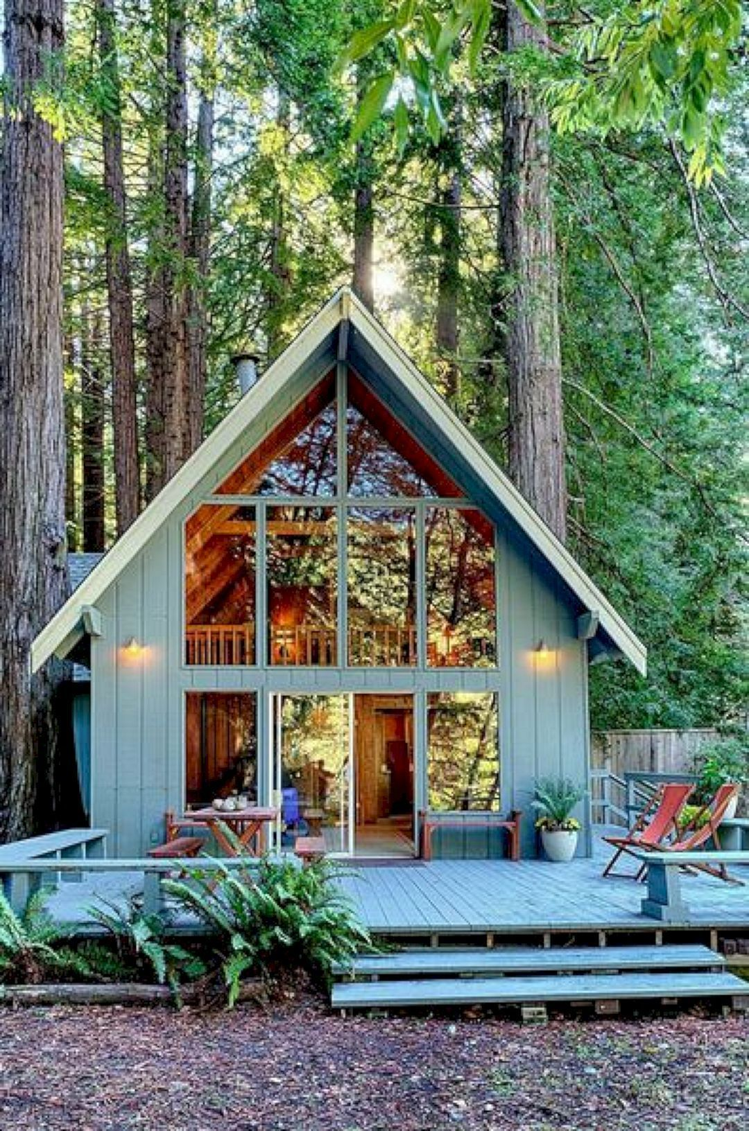 44 Impressive Small Home Construction Design Ideas #smallhomes