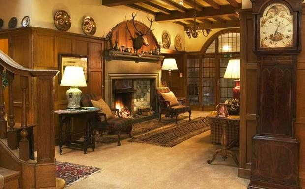 Kinloch House Hotel Interior, Manor house hotel, House