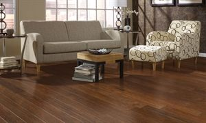 """Picture of Harris Wood Springloc Today Vintage Hickory 4-3/4"""" Mustang #vintagefloor #hickoryfloor $5.35 sq/ft."""