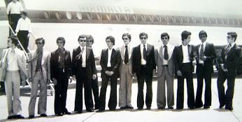 Guess the year! Historic moment in Air Malta's aviation history when the first Maltese pilots earned their wings as First Officers. Clue: check ...