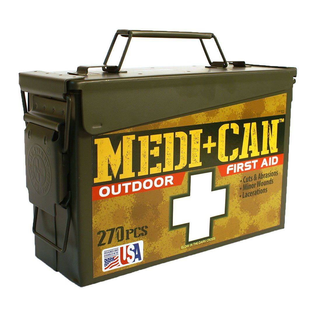 Be smart get prepared 270piece medican first aid