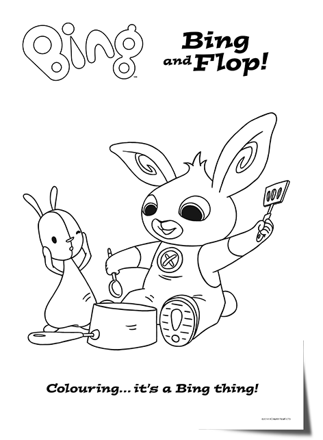 bing bunny cbeebies coloring pages | Bing Birthday | Pinterest
