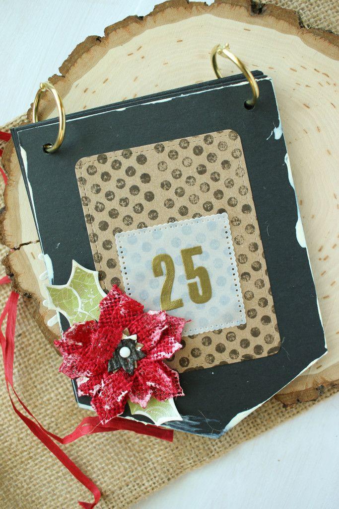 Canvas Corp Christmas countdown flip calendar! Just decorate each