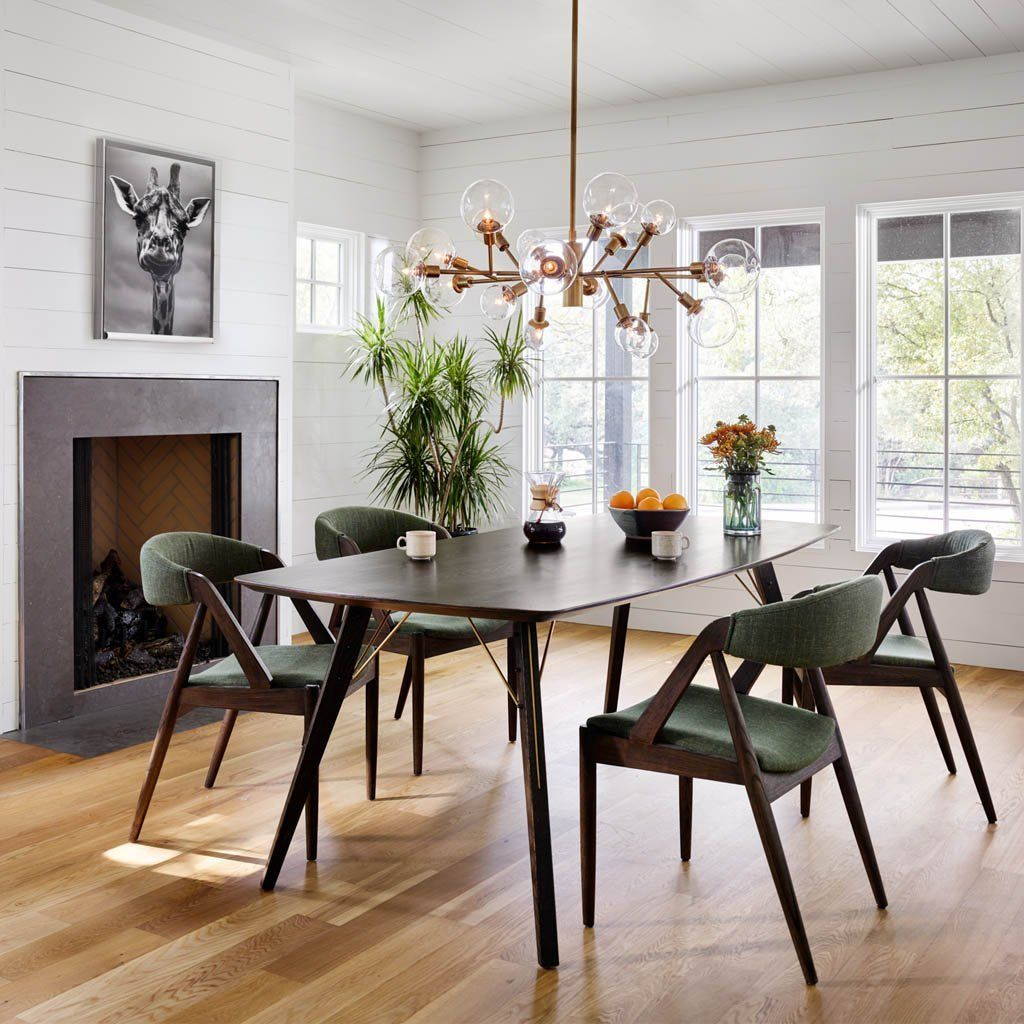 Thoreau Dining Table Burnt Oak Dining Room Makeover Dining