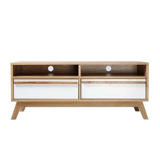 Meuble TV design scandinave HELIA MILIBOO  prix, avis  notation - Meuble Tv Avec Rangement
