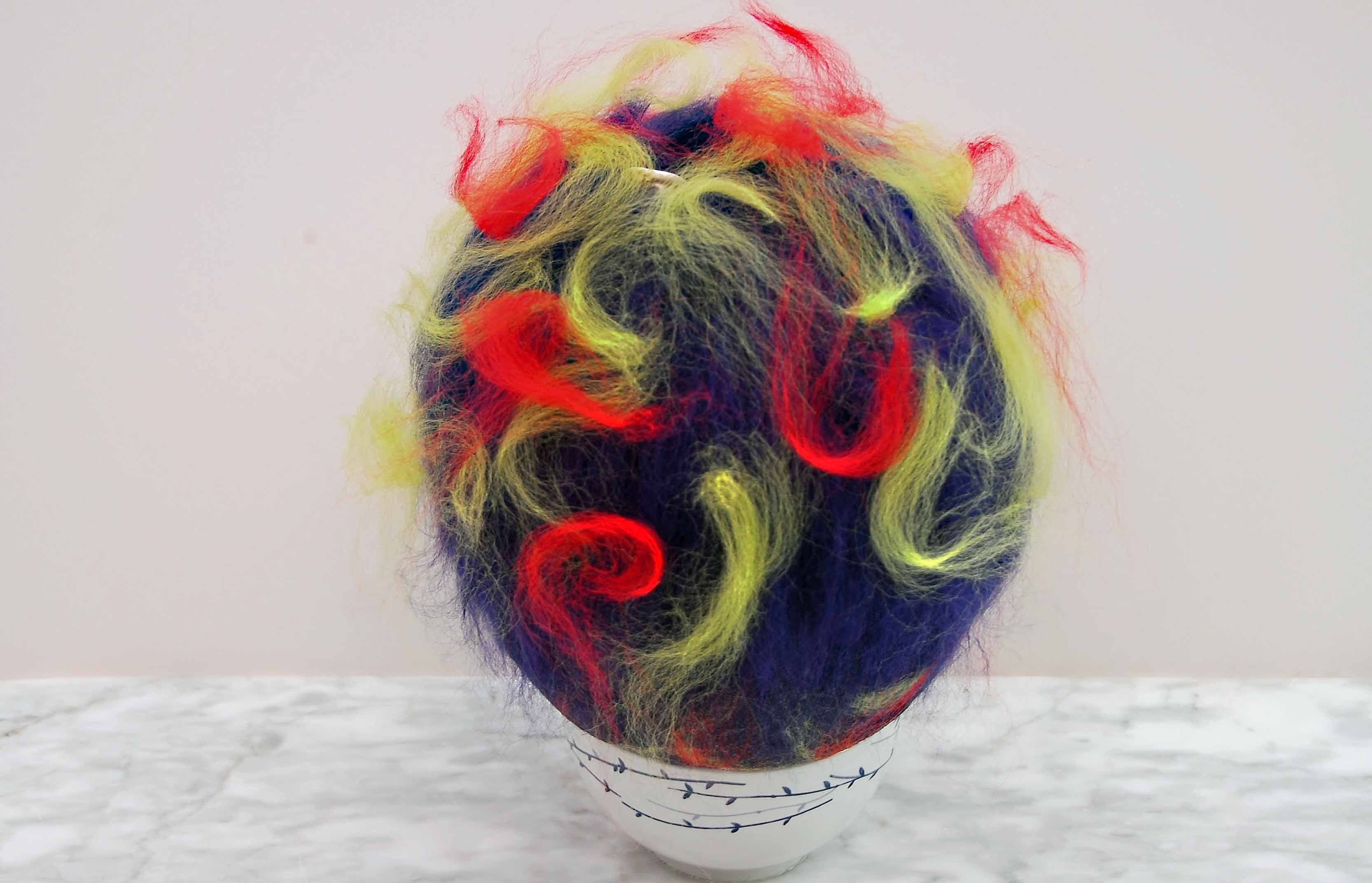 How to wet felt a bird pod felting tutorials tumble dryers and this free wet felting tutorial makes use of a balloon a tumble dryer and merino wool roving to produce a delightful bird pod for display or use in your baditri Images