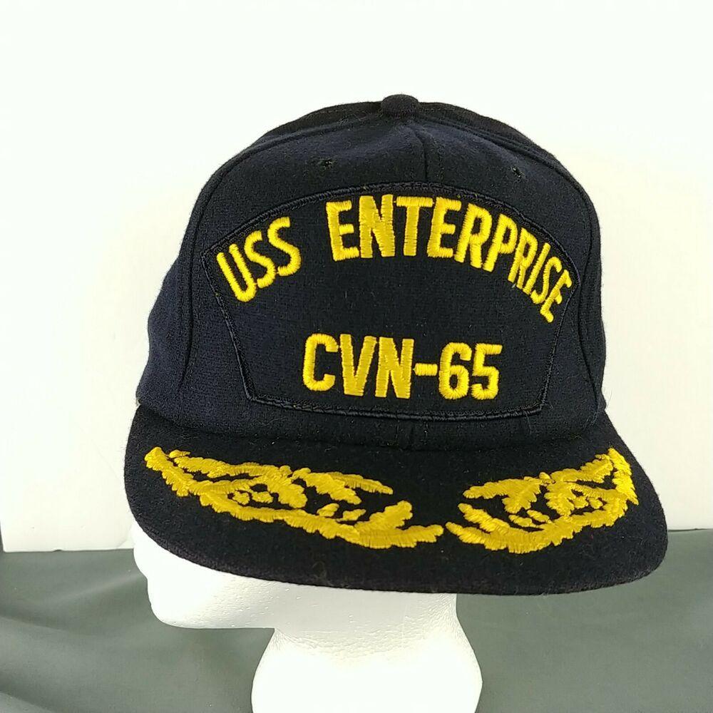 USS Enterprise CVAN-65 Cap