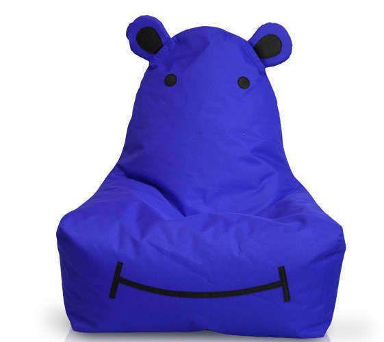 Childrenu0027s Hippo Bean Bag Chair FREE Personalization