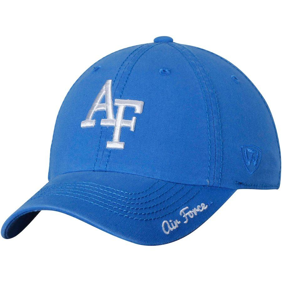 e45118f6a49 Air Force Falcons Top of the World Women s Crew Adjustable Hat - Royal
