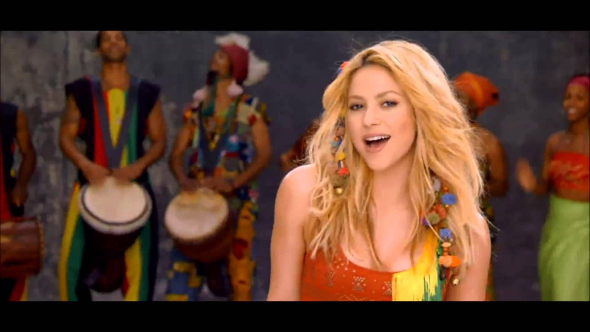 Shakira La La La Lyrics Com Carlinhos Brown Musica Da Copa 2014 Fifa Shakira Melhores Musicas Musica