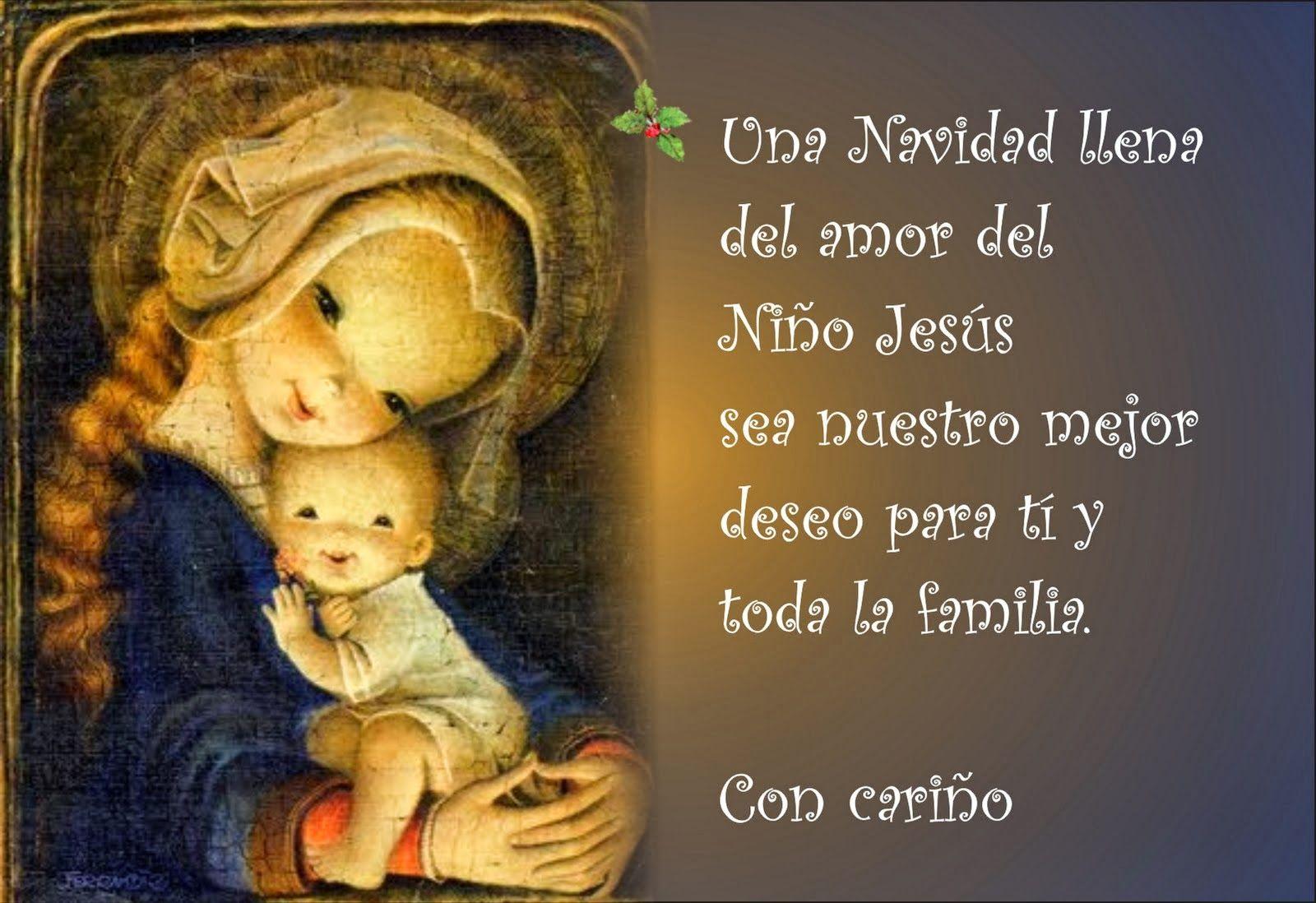 Imagenes de navidad tarjetas de navidad postales de - Tarjetas navidenas cristianas ...