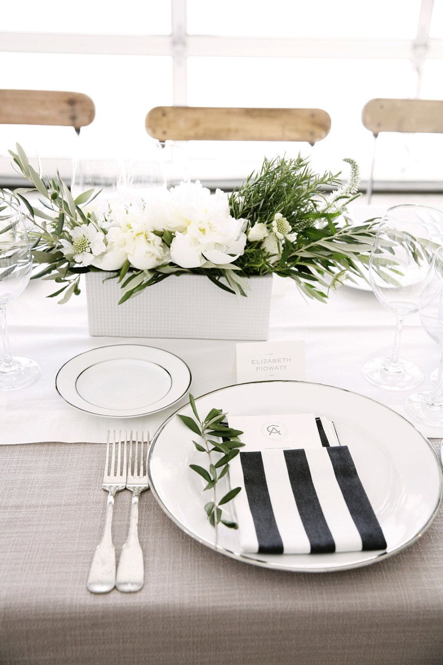 Modern Elegance at Durham Ranch | Table settings, Durham and Ranch