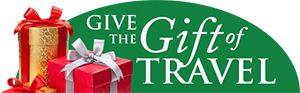 It's gift giving season so why not give the #GiftofTravel! We sell Travel Gift Certificates in all amounts. Contact us or come in to our office to purchase!  #GadaboutTravel #Travel #Vacation #Illinois #Chicagoland #PalosHills #PalosPark #OrlandPark #Tinley #Frankfort #NewLenox #Lombard #OakBrook #DownersGrove