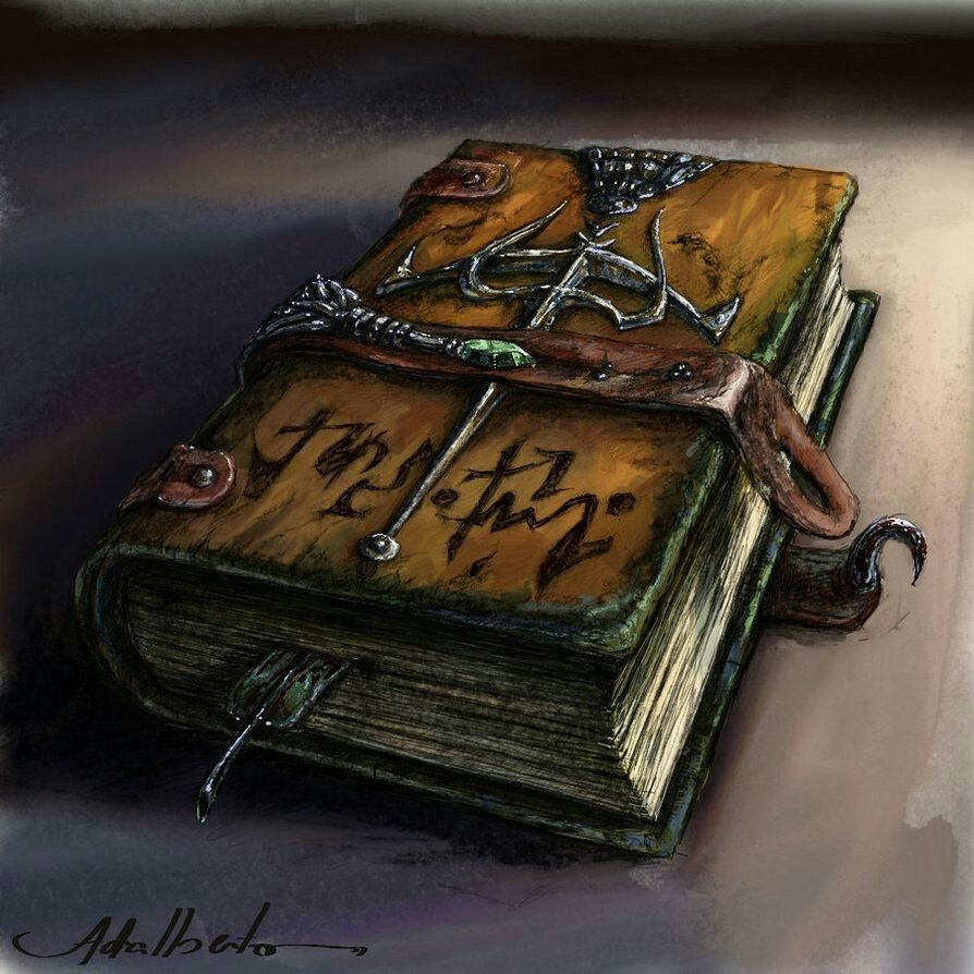 From louhis library fantasy books magic book