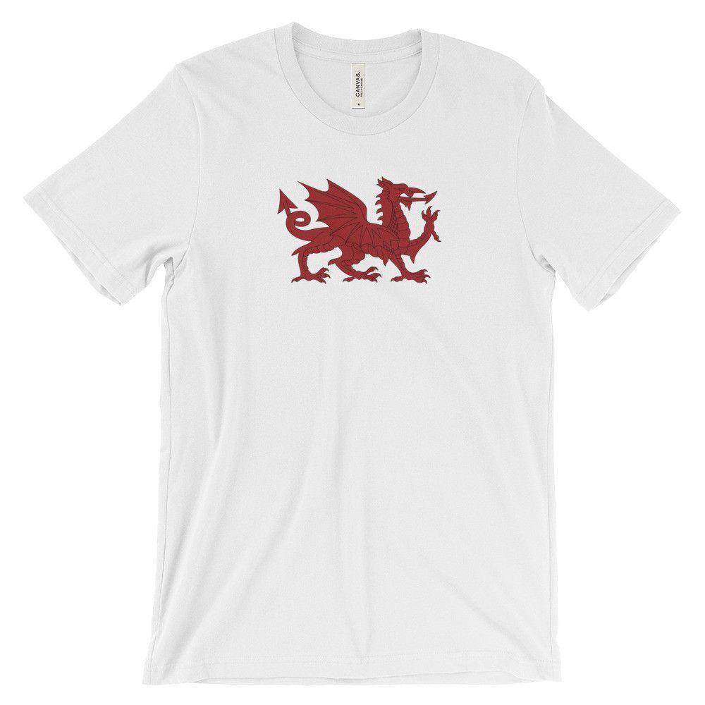 WELSCH DRAGON Unisex short sleeve t-shirt
