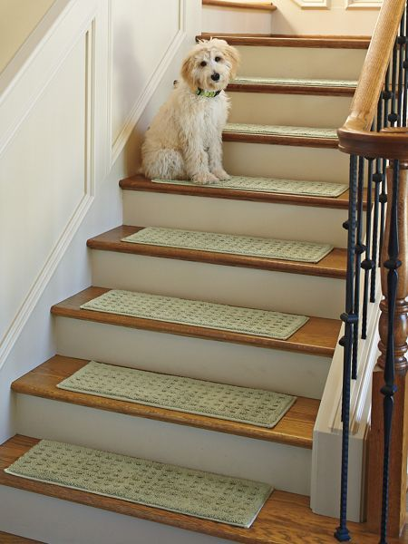 Non Slip Carpeted Stair Treads Solutions Stair Treads Stairs