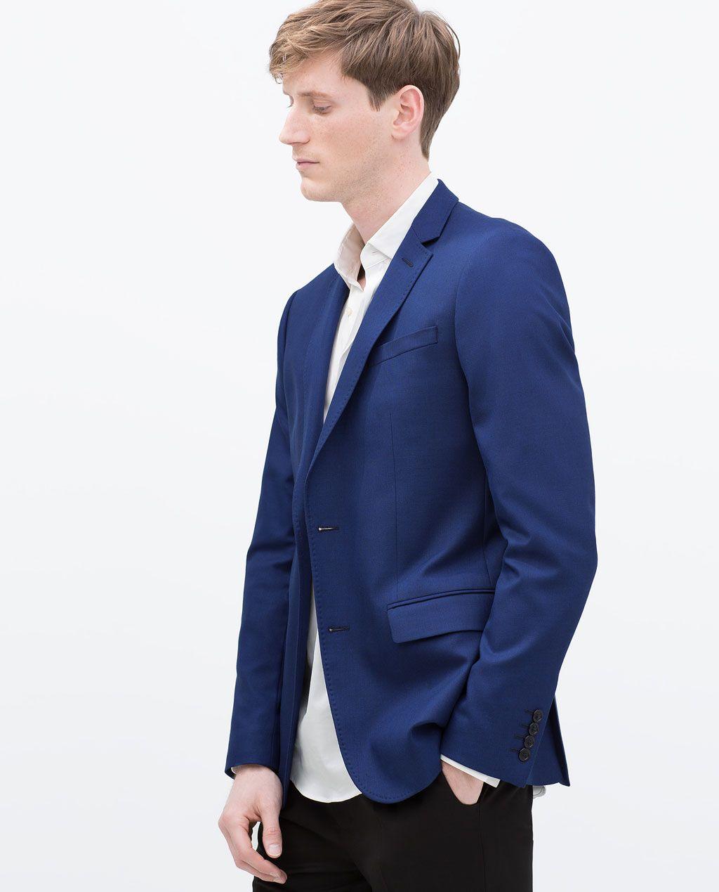 b52b7685 ZARA - MAN - BASIC BLAZER | Blazer men in 2019 | Blazer, Blazers for ...