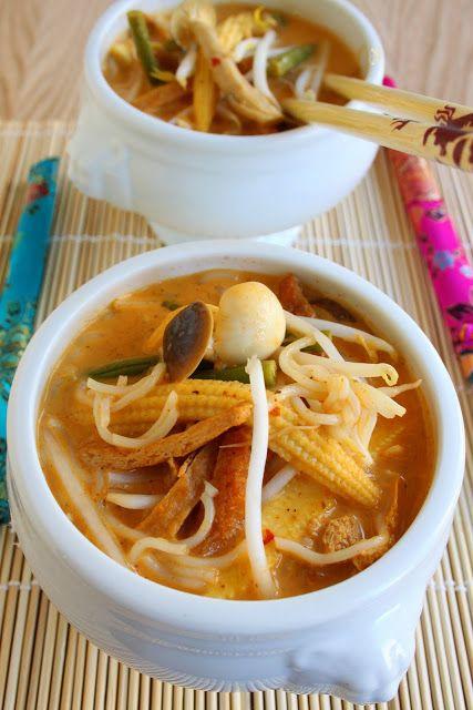 Curried Coconut Noodle Soup