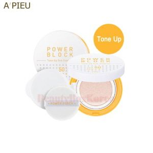 A 039 Pieu Power Block Tone Up Sun Cushion Spf50 Pa 14g Korean Beauty Store Tone It Up Korean Beauty Trends