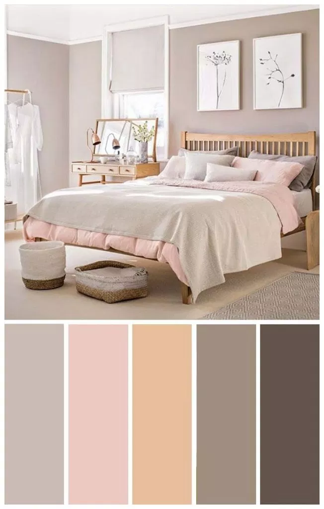 45 Inspiring Bedroom Colour Ideas #masterbedroomideas #bedroomcolourideas #colorschemeideas ⋆ newport-international-group.com #masterbedroompaintcolors