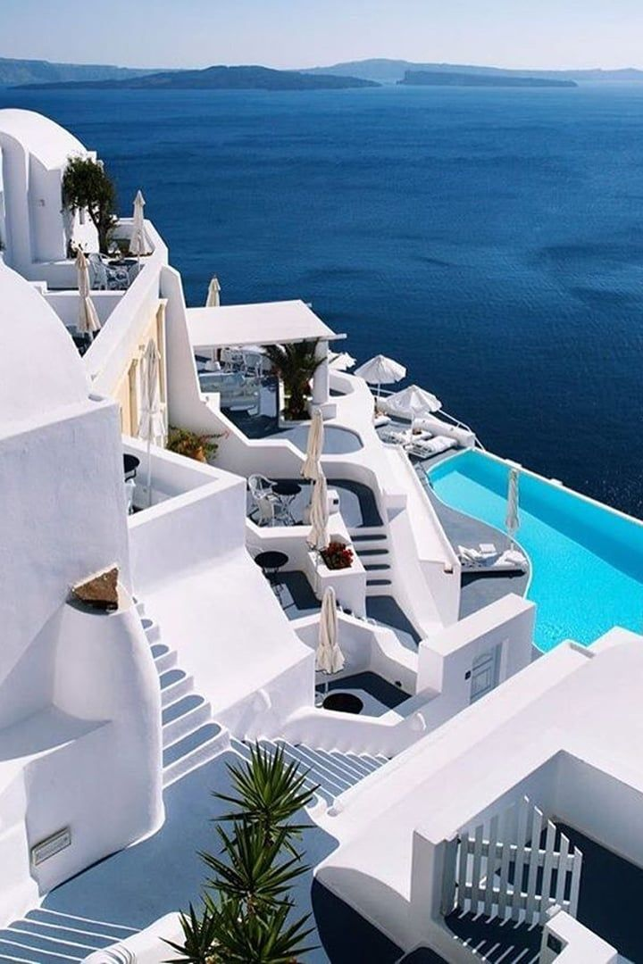 Instagram of the Day: Classic Vibes of Santorini#classic #day #instagram #santorini #vibes