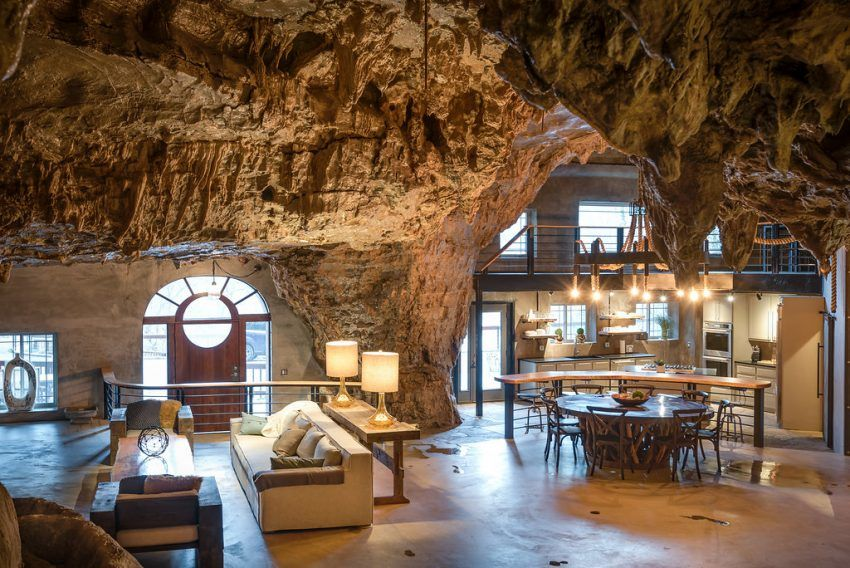 Stay At A Luxury House Built Inside A Mountain Cave In The