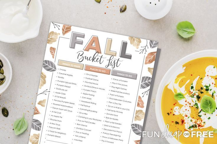 Fall Bucket List: A Fun Way To Make Memories #fallbucketlist Fall Bucket List: A Fun Way To Make Memories  #Bucket #fall #fun #List #memories #fallbucketlist