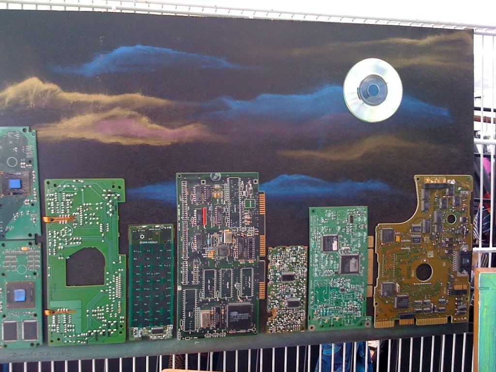 Circuit Board Art Photo by dstorrs | Photobucket | Crafts: Repurpose ...