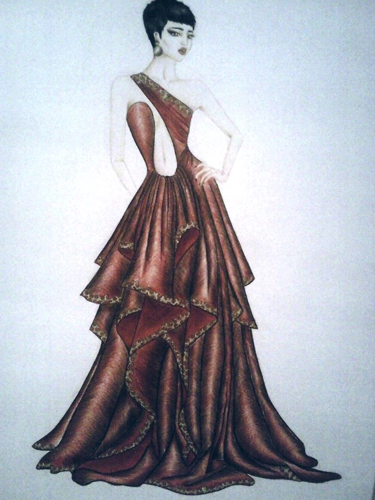 Fashion sketches new fashion sketches - 40 Glamorous Fashion Illustrations Sketches For New Designers