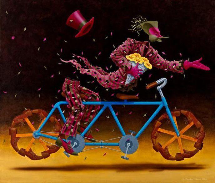 Blue Bike by Claudio Souza PInto