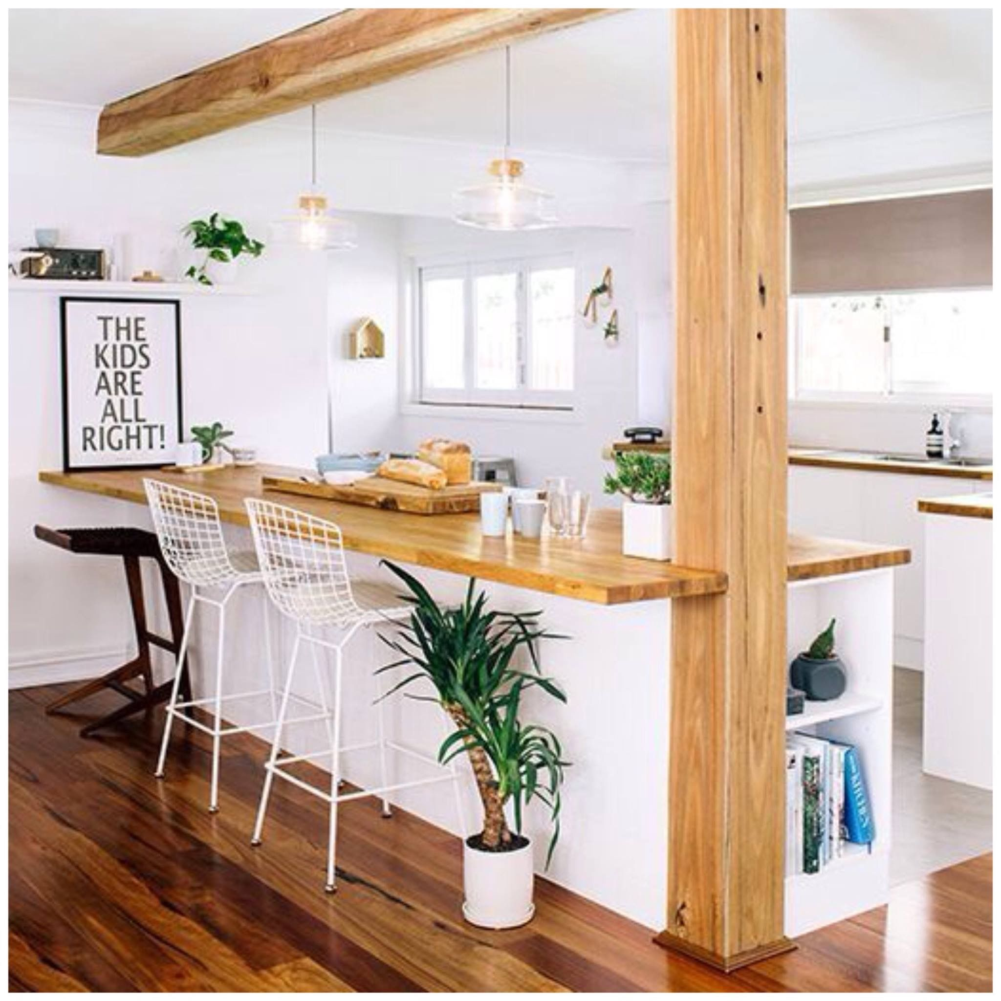 Dallas like the kitchen look here pat 39 s dream cottage for Mini cuisine ouverte