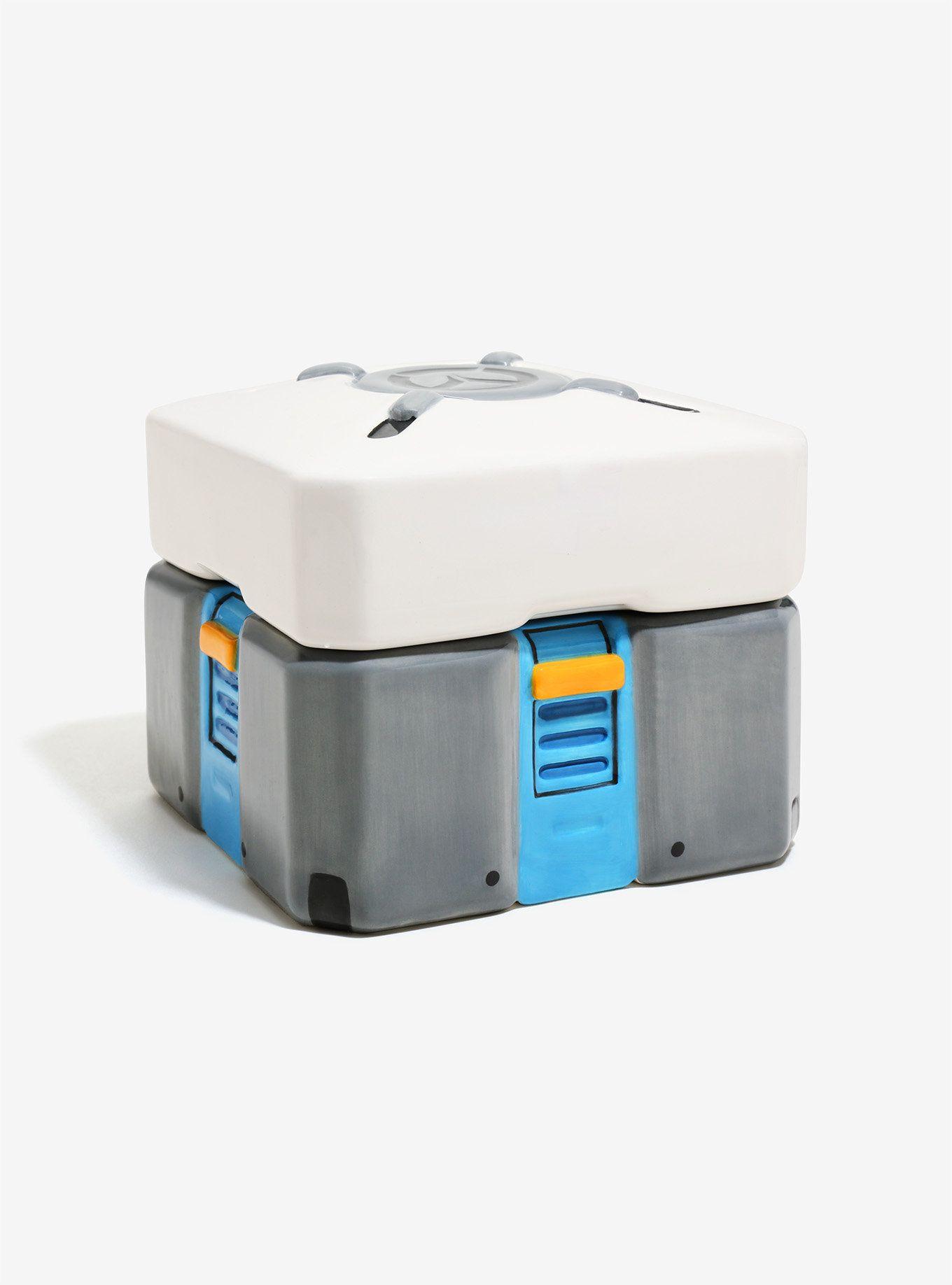 Overwatch Loot Box Cookie Jar Cookie Box Cookie Jars Jar