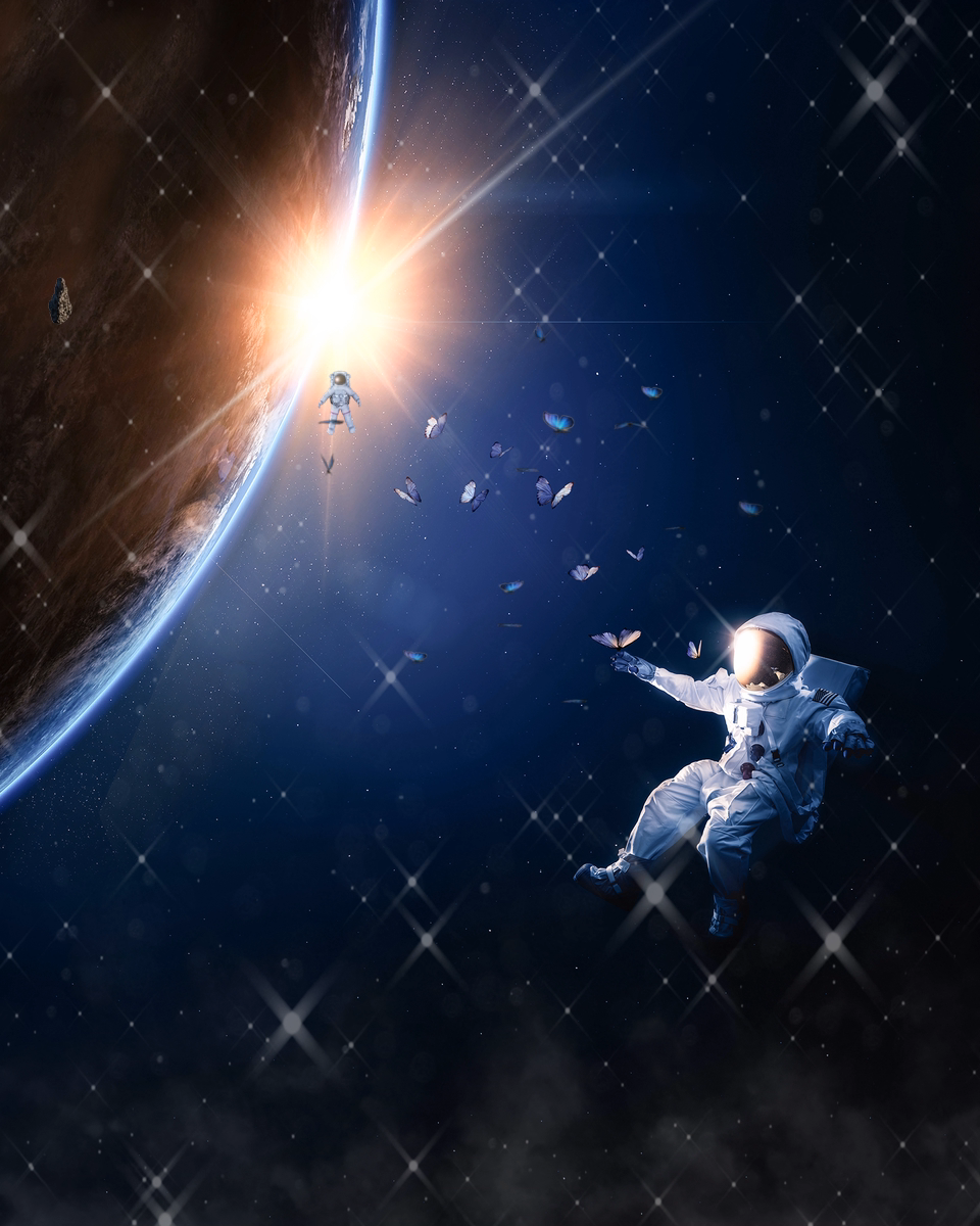 Artist of the Week | Outer Space Motion Graphic In