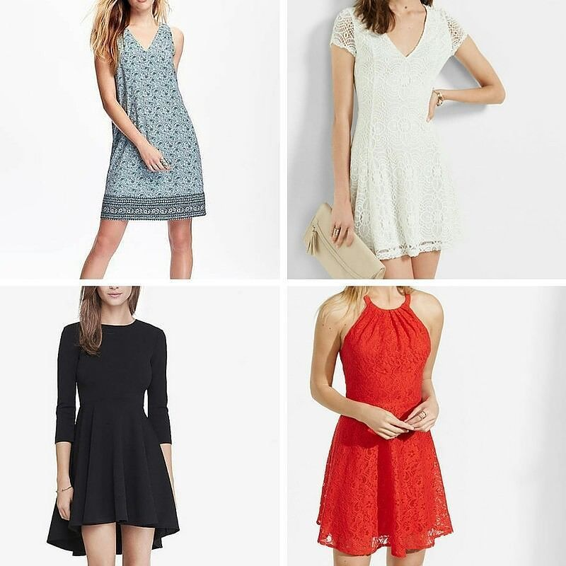 I'm looking to buy a new dress and need some feedback. Why do you think of these?  Are any a yes? A no?