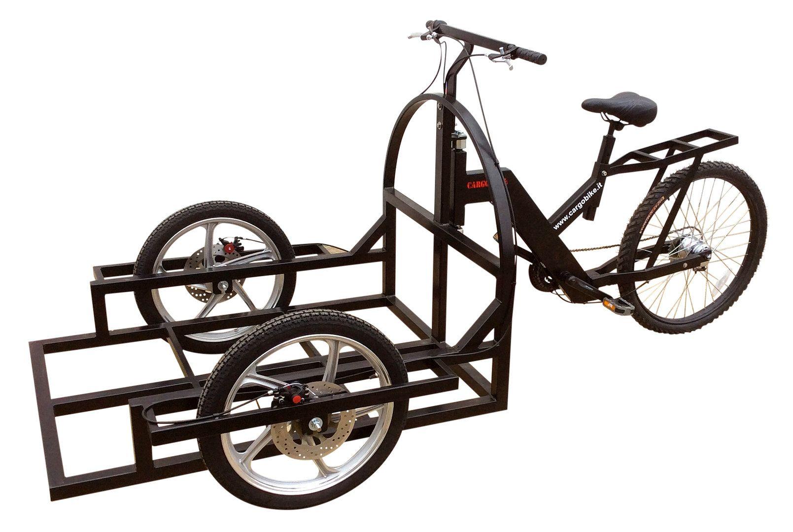 Attila Work Tricycle Bike Cargo Carrinho De Sorvete Trailer De