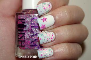 ErinZi's Nails: Glam Polish - http://yournailart.com/erinzis-nails-glam-polish/ - #nails #nail_art #nails_design #nail_ ideas #nail_polish #ideas #beauty #cute #love