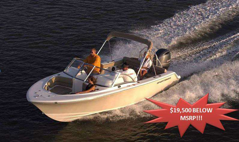 Specifications for the 2014 Sportsman Boats Discovery 210