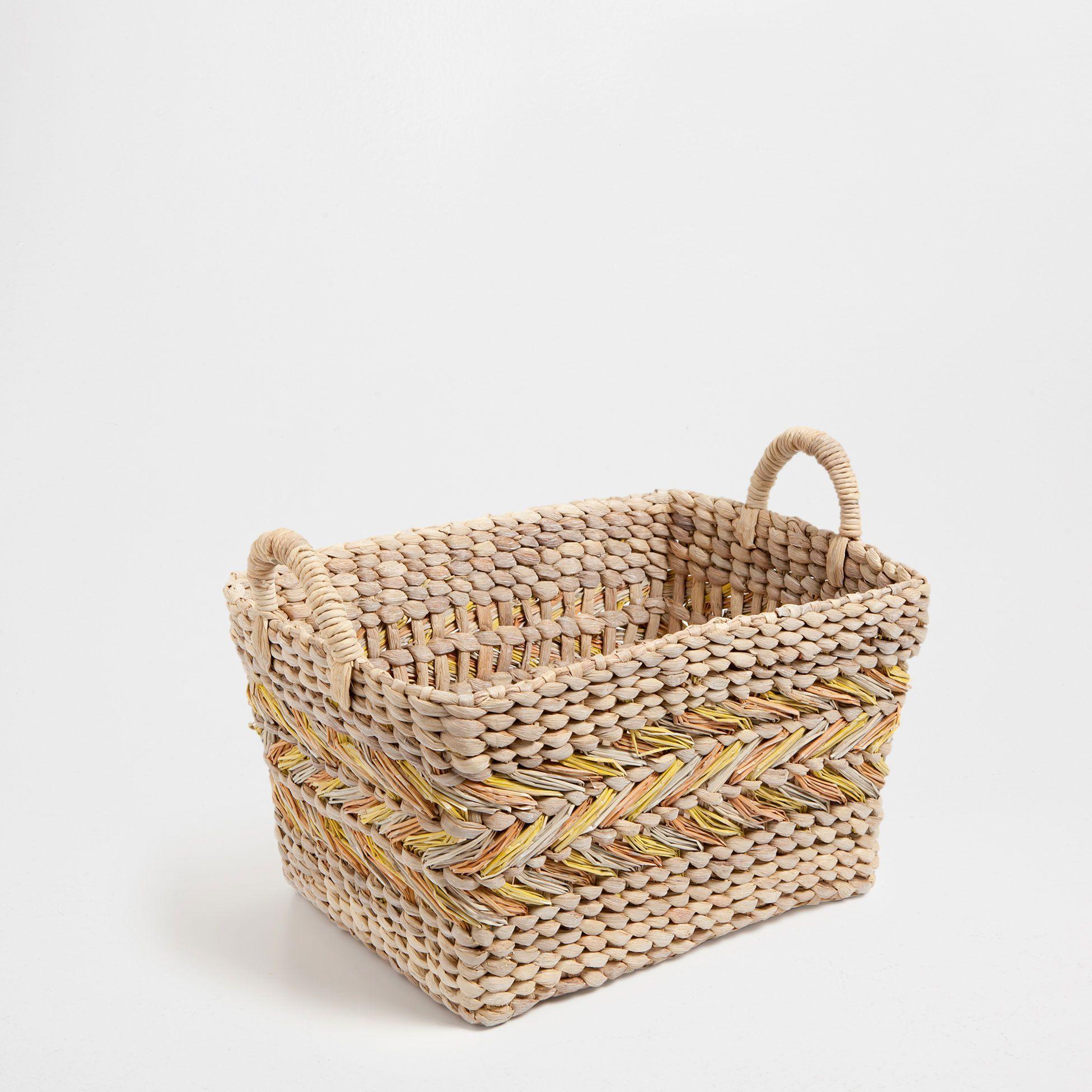 10 cesto jacinto natural cestos decora o promo es - Zara home portugal ...