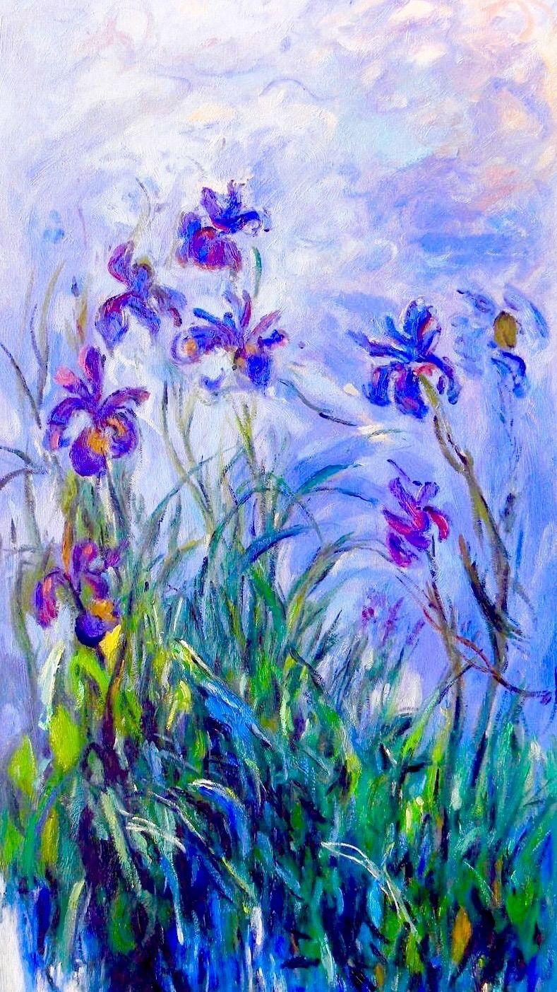 Claude 1840 1926 irises dipinti artistici