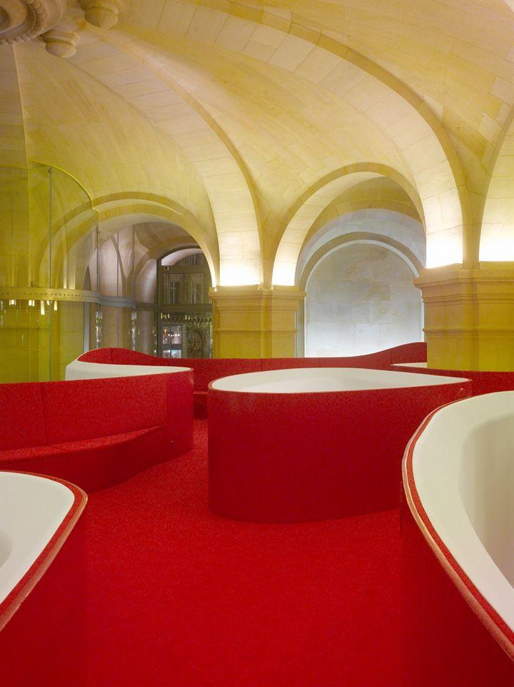 Phantom – Restaurant of the Garnier Opera by Odile Decq & Benoît Cornette, Paris - wowza