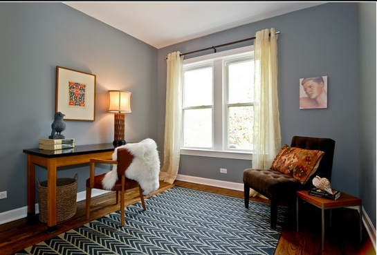 benjamin moore, timberwolf (saw this paint color in someone's home