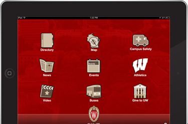 A must-have app for any #Badger, Mobile UW features campus news, bus routes and more!