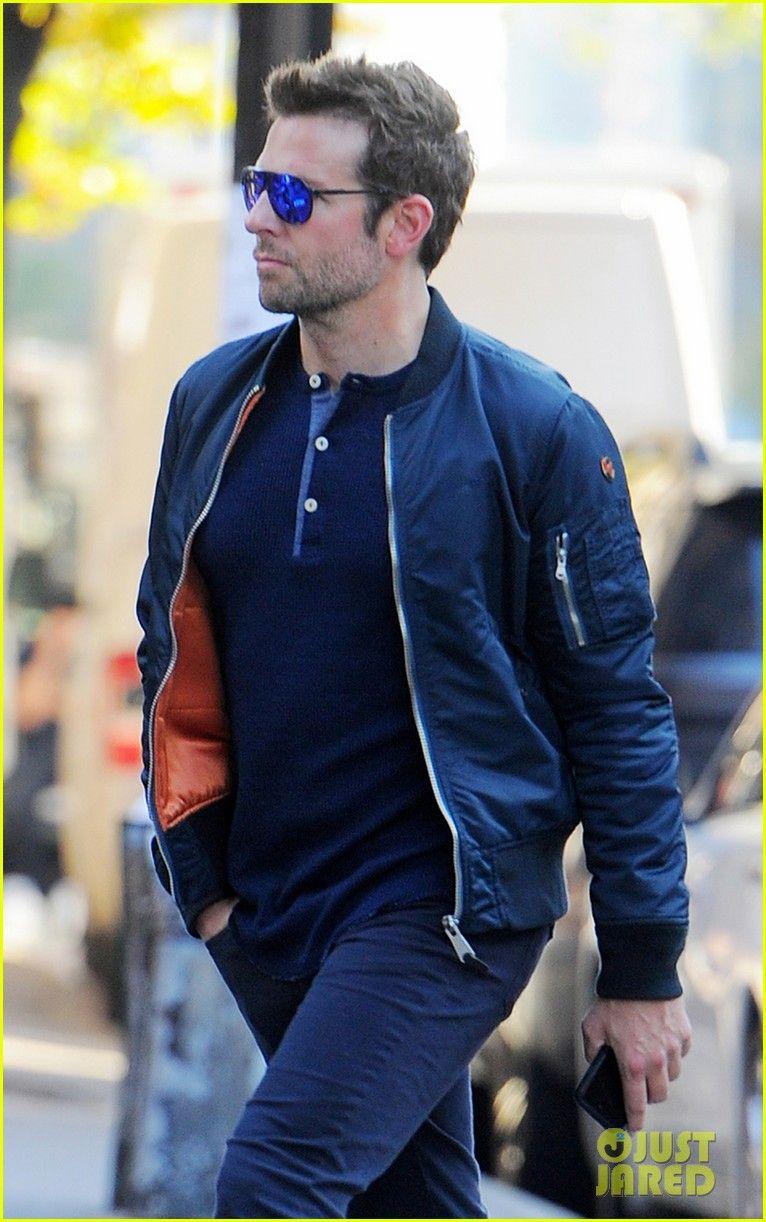 5c74abb97a9 Bradley Cooper Schott Mens Nylon Flight Jacket