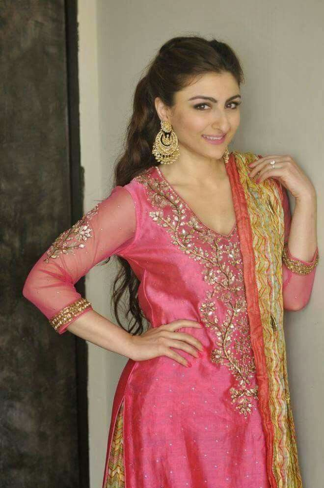 Beauty Queen Soha Ali Khan Pataudi <3